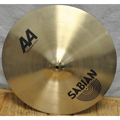 Sabian 18in AA Thin Crash Cymbal  38
