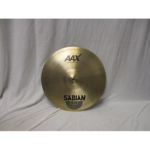 Sabian 18in AAX Dark Crash Cymbal