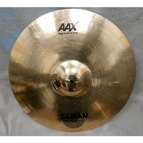 Sabian 18in AAX Stage Crash Cymbal