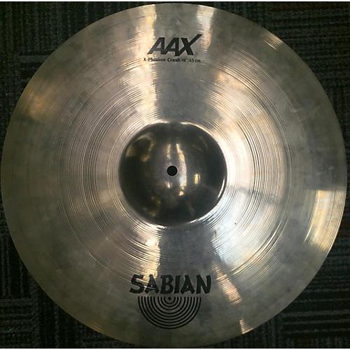 Sabian 18in AAX Xplosion Crash Cymbal