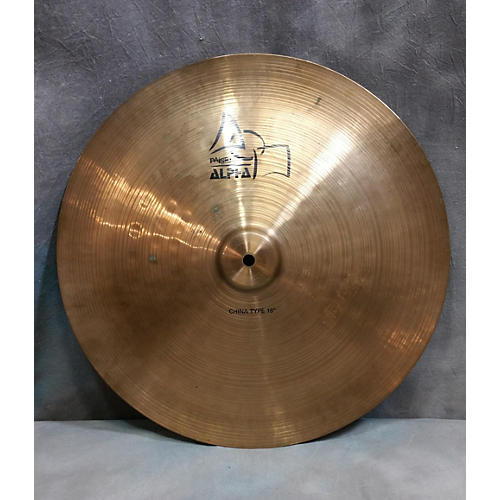 Paiste 18in Alpha China Type Cymbal-thumbnail
