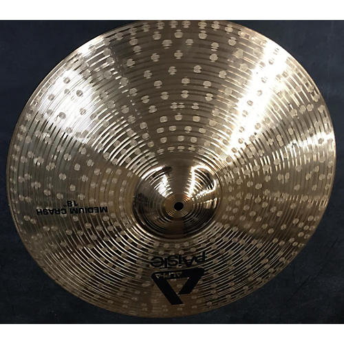 Paiste 18in Alpha Medium Crash Brilliant Cymbal
