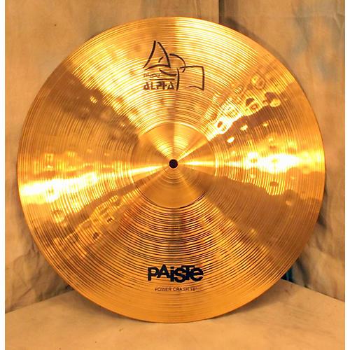 Paiste 18in Alpha Power Crash Cymbal