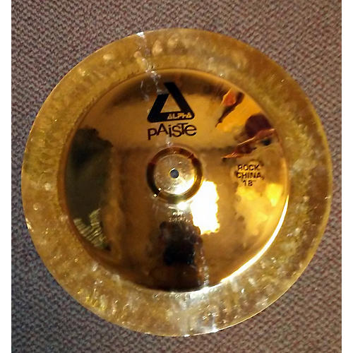 Paiste 18in Alpha Rock China Cymbal  38