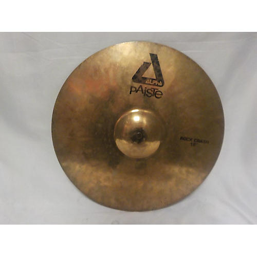Paiste 18in Alpha Rock Crash Cymbal