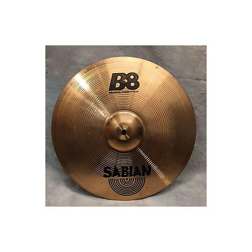 Sabian 18in B8 Medium Crash Cymbal-thumbnail
