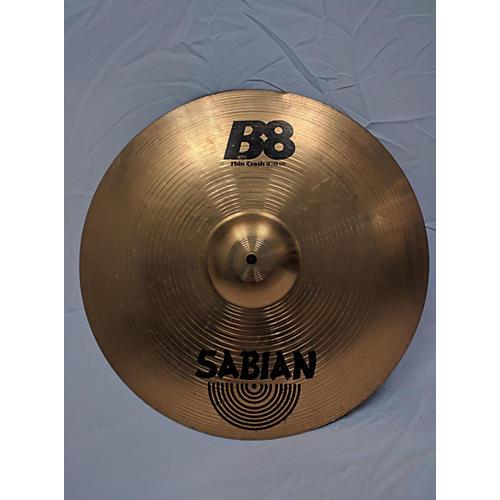 Sabian 18in B8 Thin Crash Cymbal-thumbnail