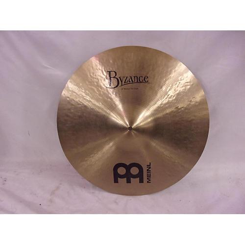 Meinl 18in Byzance Traditional Medium Thin Crash Cymbal