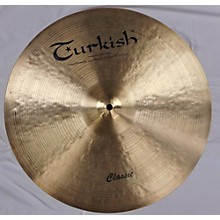 Turkish 18in CLASSIC Cymbal