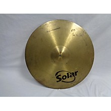 Solar by Sabian 18in CRASH RIDE Cymbal