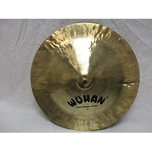 Pre-owned Wuhan 18 inch China Cymbal by Wuhan