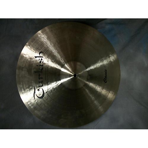 Turkish 18in Classic 18 Medium Thin Cymbal