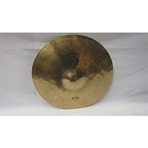 Pre-owned Wuhan 18 inch Crash Ride Cymbal by Wuhan