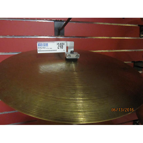 Paiste 18in Flat Ride Cymbal  38
