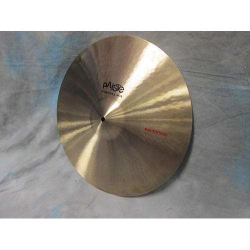 Paiste 18in Formula 602 18in Paper Thin Crash Cymbal