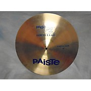 Paiste 18in Formula 602 Modern Dynamic China Cymbal