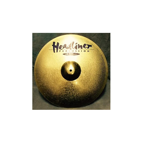 Meinl 18in HEADLINER 18In CRASH Gold Cymbal-thumbnail