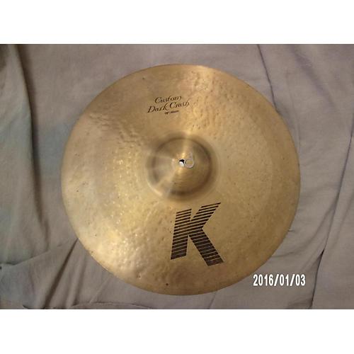Zildjian 18in K Custom Dark Crash Cymbal-thumbnail
