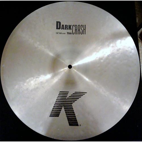 Zildjian 18in K Custom Dark Crash Cymbal