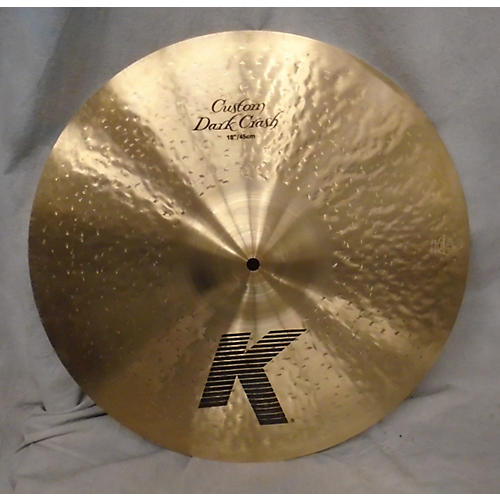 Zildjian 18in K Custom Dark Crash Cymbal