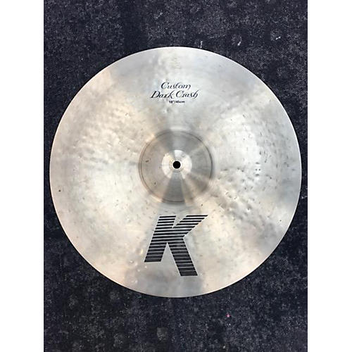 Zildjian 18in K Custom Dark Crash Cymbal-thumbnail