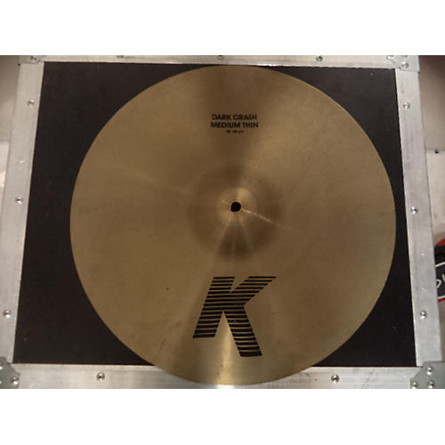 Zildjian 18in K Custom Dark Crash Medium Cymbal-thumbnail