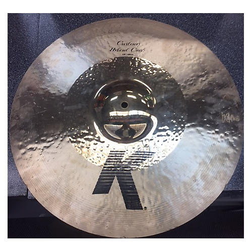 Zildjian 18in K Custom Hybrid Crash Cymbal-thumbnail