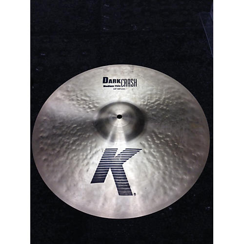 Zildjian 18in K Medium Dark Thin Crash Cymbal