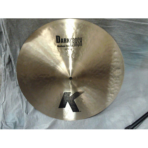 Zildjian 18in K Medium Dark Thin Crash Cymbal-thumbnail