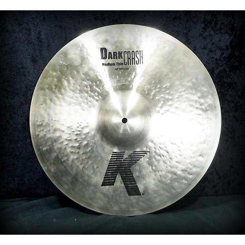 Zildjian 18in K Medium Dark Thin Crash Cymbal-thumbnail