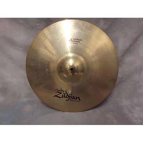 Zildjian 18in Medium Crash Brilliant Cymbal-thumbnail