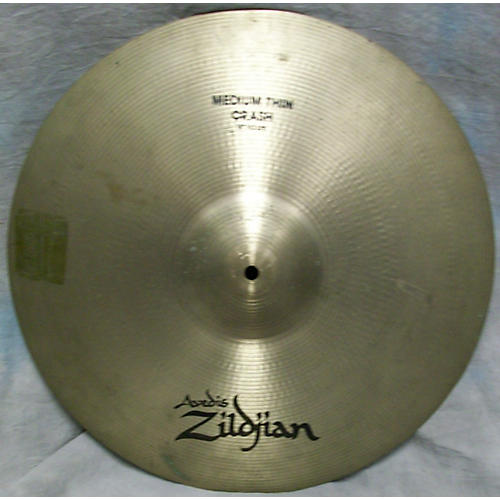Zildjian 18in Medium Thin Crash Cymbal  38