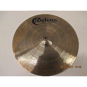 Pre-owned Bosphorus Cymbals 18 inch New Orleans Crash Cymbal by Bosphorus Cymbals
