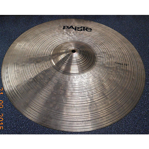 Paiste 18in Prototype Crash Cymbal