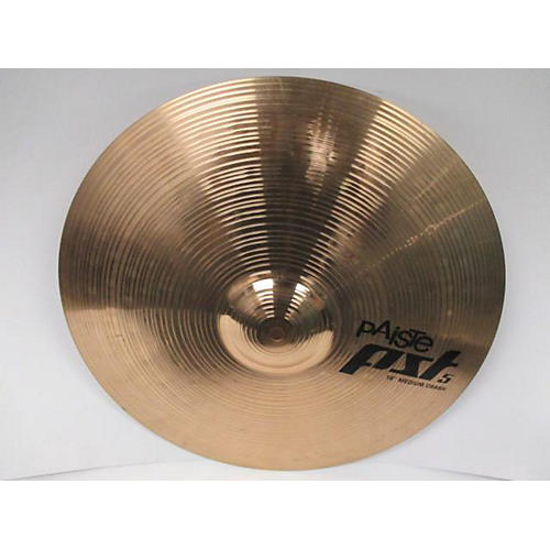 Paiste 18in Pst 5 Medium Crash Cymbal