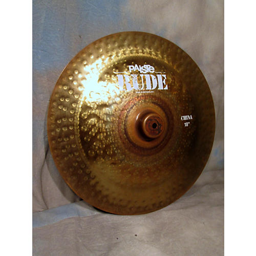 Paiste 18in Rude China Cymbal-thumbnail