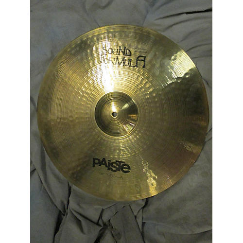 used paiste 18in sound formula full crash cymbal guitar center. Black Bedroom Furniture Sets. Home Design Ideas