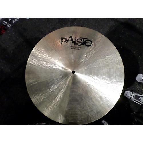 Paiste 18in Signature Prototype Crash Cymbal