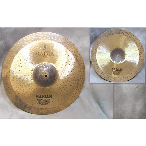 Sabian 18in Terry Bozzio Radia Cymbal