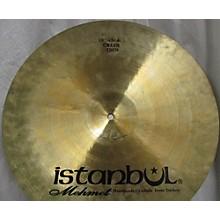 Istanbul Mehmet 18in Thin Crash Cymbal