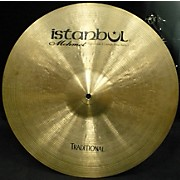 Istanbul Mehmet 18in Traditional Medium Cymbal
