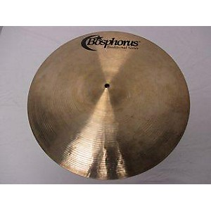 Pre-owned Bosphorus Cymbals 18 inch Traditional Series Crash Jazz Ride Cymbal by Bosphorus Cymbals
