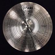 Paiste 18in Twenty Prototype Crash Cymbal