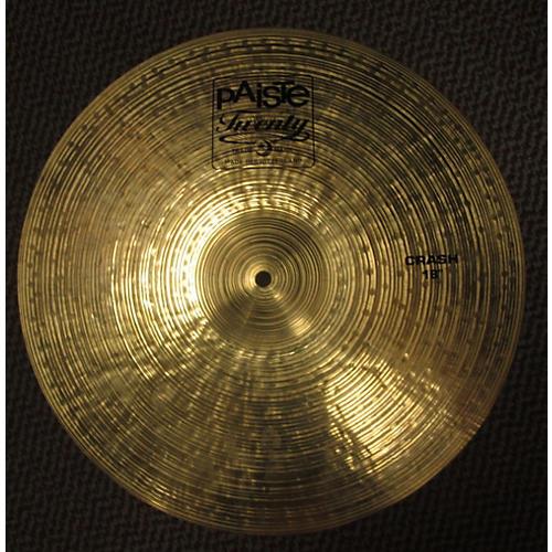 Paiste 18in Twenty Series Crash Cymbal-thumbnail