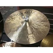 Istanbul Agop 18in VEZIR CRASH RIDE Cymbal