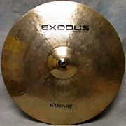 Exodus 18in Worship Cymbal