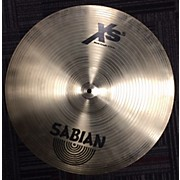 Sabian 18in XS Rock Crash Brilliant Cymbal