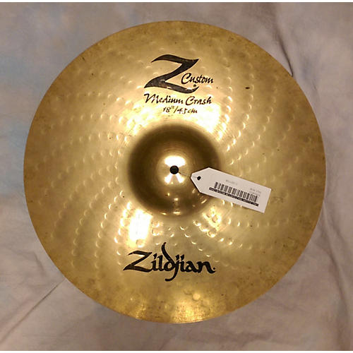 Zildjian 18in Z CUSTOM MEDIUM CRASH Cymbal-thumbnail