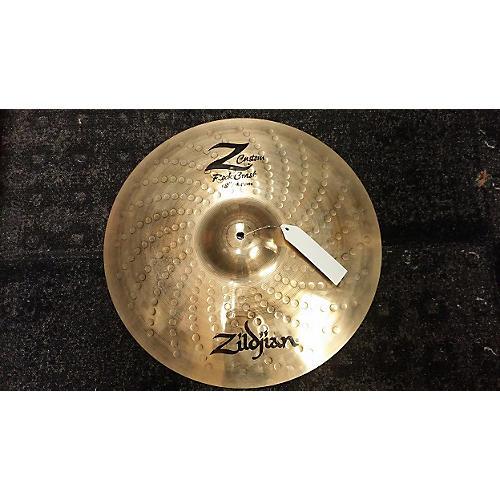 Zildjian 18in Z Custom Rock Crash Cymbal-thumbnail