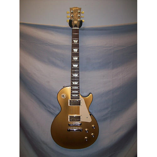 Gibson 1950S Tribute Les Paul Studio Gold Top Solid Body Electric Guitar